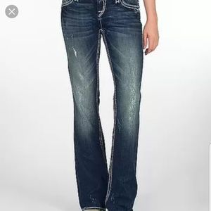 "Rock Revival ""Nadia"" bootcut distressed jeans"